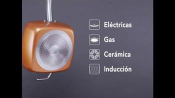 Copper Chef Square Pan TV Spot, 'Sistema de 5 piezas' [Spanish] - Thumbnail 7