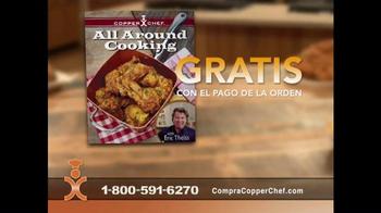 Copper Chef Square Pan TV Spot, 'Sistema de 5 piezas' [Spanish] - Thumbnail 8