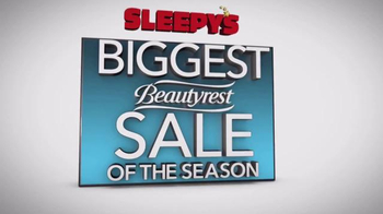 Sleepy's Biggest Beautyrest Sale of the Season TV Spot, 'True Comfort' - Thumbnail 4