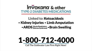 Goldwater Law Firm TV Spot, 'Diabetes Medication' - Thumbnail 4