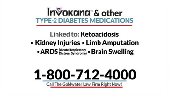 Goldwater Law Firm TV Spot, 'Diabetes Medication' - Thumbnail 5