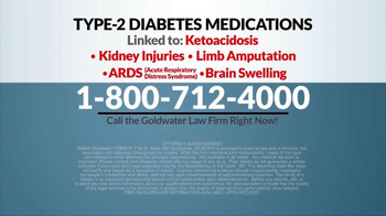 Goldwater Law Firm TV Spot, 'Diabetes Medication' - Thumbnail 7