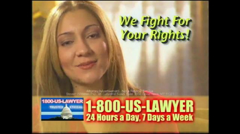 1-800-US-LAWYER TV Spot, 'Any Type of Accident' - Thumbnail 10