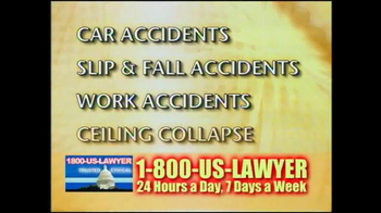 1-800-US-LAWYER TV Spot, 'Any Type of Accident' - Thumbnail 6