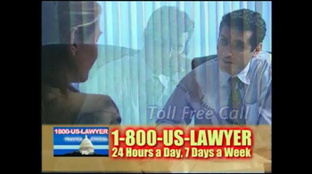 1-800-US-LAWYER TV Spot, 'Any Type of Accident' - Thumbnail 8