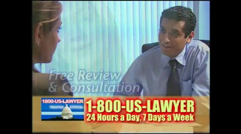 1-800-US-LAWYER TV Spot, 'Any Type of Accident' - Thumbnail 9