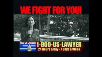 1-800-US-LAWYER TV Spot, 'Pain and Suffering'