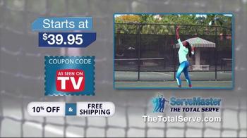 The Total Serve ServeMaster TV Spot, 'Tennis Training' Ft. Kevin Harrington - Thumbnail 9