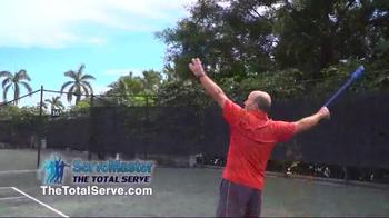 The Total Serve ServeMaster TV Spot, 'Tennis Training' Ft. Kevin Harrington - Thumbnail 6