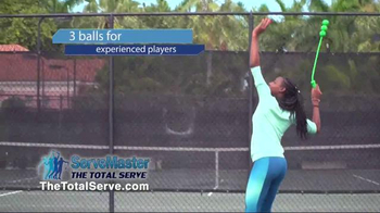 The Total Serve ServeMaster TV Spot, 'Tennis Training' Ft. Kevin Harrington - 2 commercial airings