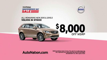 AutoNation Independence Day Sale TV Spot, '2015 Volvos' - Thumbnail 3