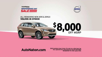 AutoNation Independence Day Sale TV Spot, '2015 Volvos' - Thumbnail 5