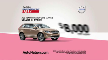 AutoNation Independence Day Sale TV Spot, '2015 Volvos' - Thumbnail 7