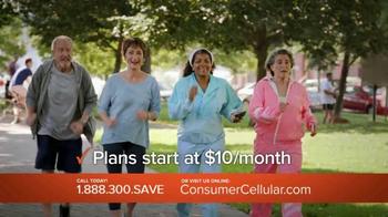 Consumer Cellular TV Spot, 'Satisfaction: Summer $20 Credit: Plans $10+ a Month' - Thumbnail 5