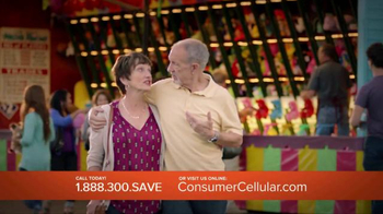 Consumer Cellular TV Spot, 'Satisfaction: Summer $20 Credit: Plans $10+ a Month' - 601 commercial airings