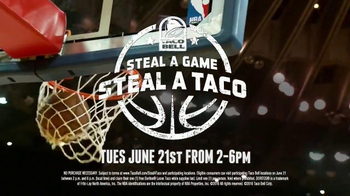 Taco Bell Steal a Game, Steal a Taco TV Spot, '2016 NBA Finals' - Thumbnail 6