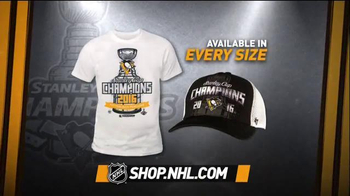 NHL Shop TV Spot, '2016 Stanley Cup Champions: Pittsburgh Penguins' - Thumbnail 2