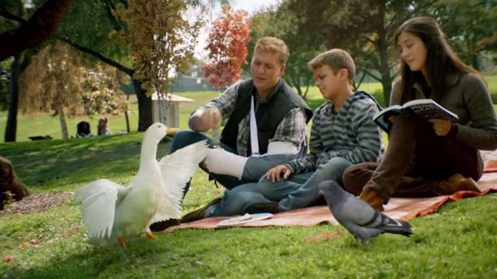 Aflac TV Commercial, 'Rap in the Park'