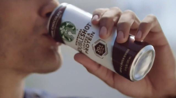 Starbucks Doubleshot Coffee & Protein TV Spot, 'Lift and Power'