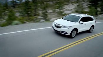 2016 Acura MDX TV Spot, 'Raise the Bar: SUV' - Thumbnail 2