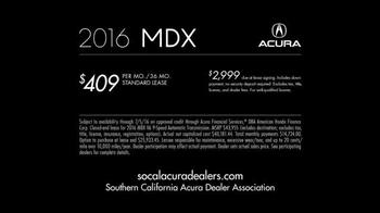 2016 Acura MDX TV Spot, 'Raise the Bar: SUV' - Thumbnail 4