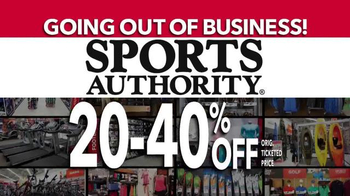 Sports Authority TV Spot, 'Going Out of Business: Gifts for Dad' - Thumbnail 3