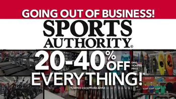 Sports Authority TV Spot, 'Going Out of Business: Gifts for Dad' - Thumbnail 4
