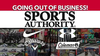 Sports Authority TV Spot, 'Going Out of Business: Gifts for Dad' - Thumbnail 7