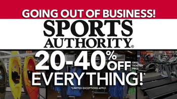Sports Authority TV Spot, 'Going Out of Business: Gifts for Dad' - Thumbnail 9