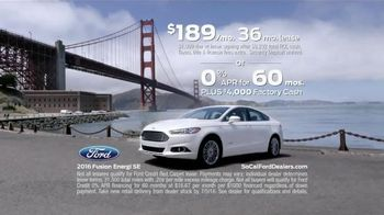 2016 Ford Fusion Energi TV Spot, 'California Driving' - Thumbnail 9