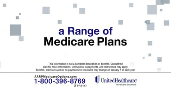 UnitedHealthcare AARP Medicare Plans TV Spot, 'Coverage' - Thumbnail 4