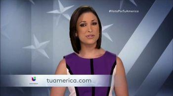 Univision Contigo TV Spot, 'Tu América: Participa' [Spanish] - 10 commercial airings