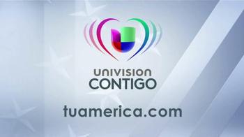 Univision Contigo TV Spot, 'Tu América: Participa' [Spanish] - Thumbnail 10