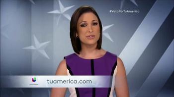 Univision Contigo TV Spot, 'Tu América: Participa' [Spanish]