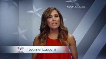 Univision Conitgo TV Spot, 'Tu América: Vota' [Spanish] - 10 commercial airings
