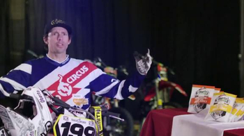 Oberto TV Spot, 'Echo' Featuring Travis Pastrana, Stephen A. Smith