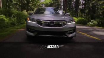 Honda One Tank Trips Sweepstakes TV Spot, 'Stormking Spa: 2016 Accord' - Thumbnail 3