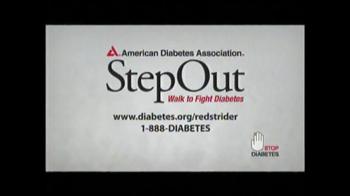 American Diabetes Association TV Spot, 'Red Strider' - Thumbnail 4