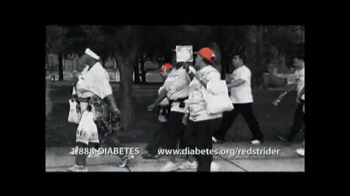 American Diabetes Association TV Spot, \'Red Strider\'