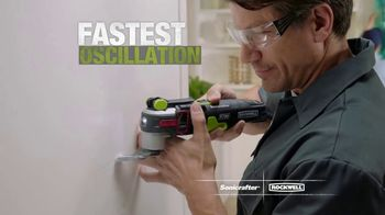 Rockwell Sonicrafter F80 TV Spot, 'Most Powerful Oscillating Multi-Tool'