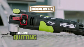 Rockwell Sonicrafter F80 TV Spot, 'Most Powerful Oscillating Multi-Tool' - Thumbnail 9