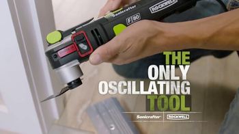 Rockwell Sonicrafter F80 TV Spot, 'Most Powerful Oscillating Multi-Tool' - Thumbnail 3