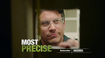 Rockwell Sonicrafter F80 TV Spot, 'Most Powerful Oscillating Multi-Tool' - Thumbnail 8