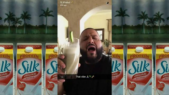 Silk Original Soymilk TV Spot, 'Smile' Featuring DJ Khaled - Thumbnail 2