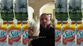 Silk Original Soymilk TV Spot, 'Smile' Featuring DJ Khaled - Thumbnail 4
