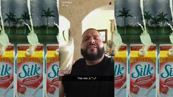 Silk Original Soymilk TV Spot, 'Smile' Featuring DJ Khaled - Thumbnail 5