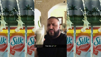 Silk Original Soymilk TV Spot, 'Smile' Featuring DJ Khaled - Thumbnail 6