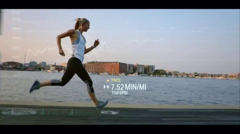 SAP TV Commercial, 'Under Armour Runs Live With SAP'