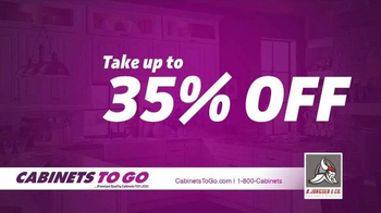Cabinets To Go Buy More! Save More! Sale TV Spot, 'Summer Offers Extended' - Thumbnail 5