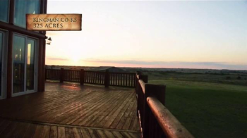 Whitetail Properties TV Spot, 'Kansas Hunting Farm With Log Home: Kingman' - Thumbnail 6